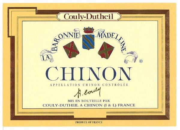 Couly-Dutheil Chinon Barronie Madeleine 2011 Front Label