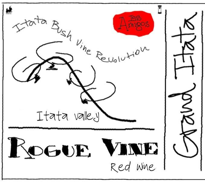 Rogue Vine Grand Itata Tinto 2014 Front Label