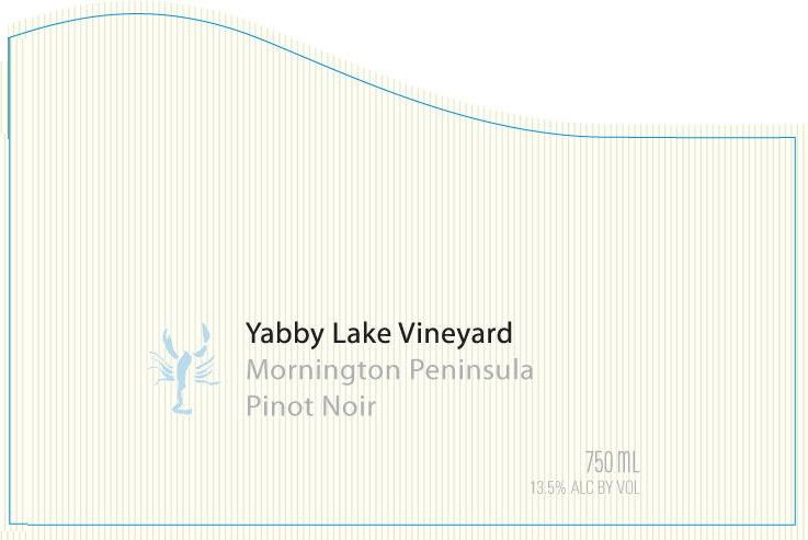 Yabby Lake Pinot Noir 2009 Front Label