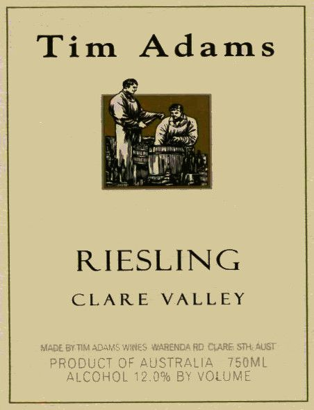 Tim Adams Riesling 2010 Front Label