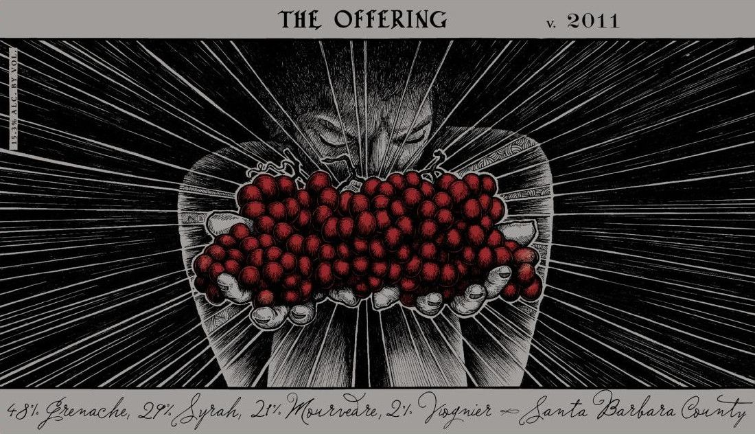 Sans Liege The Offering 2011 Front Label