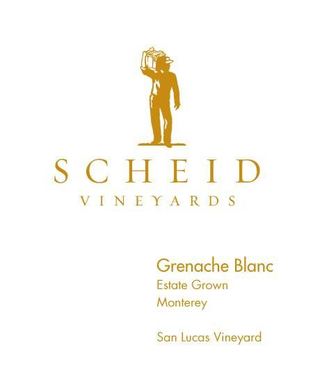 Scheid Vineyards Grenache Blanc 2012 Front Label