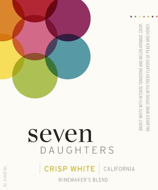 Seven Daughters Crisp Winemaker's Blend White 2013 Front Label