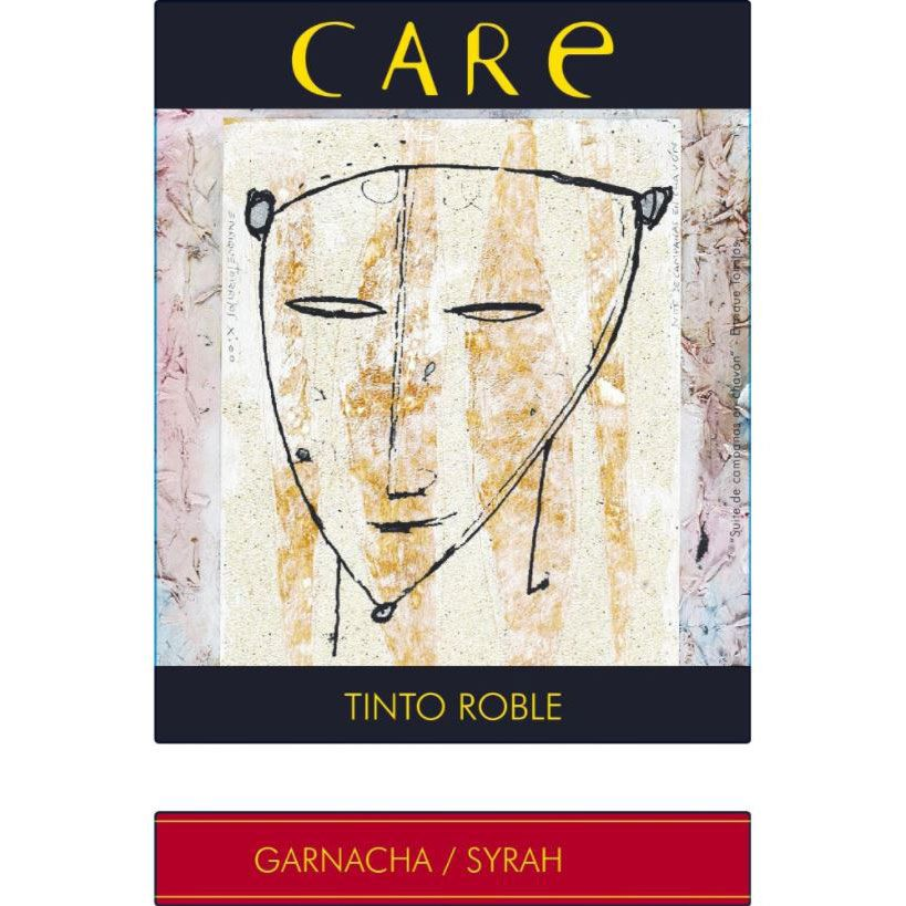 Care Tinto Roble 2016 Front Label