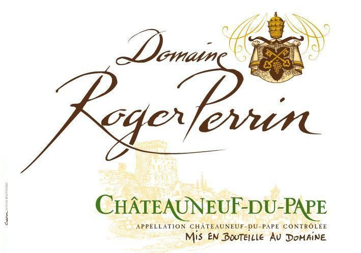 Roger Perrin Chateauneuf-du-Pape 2013 Front Label