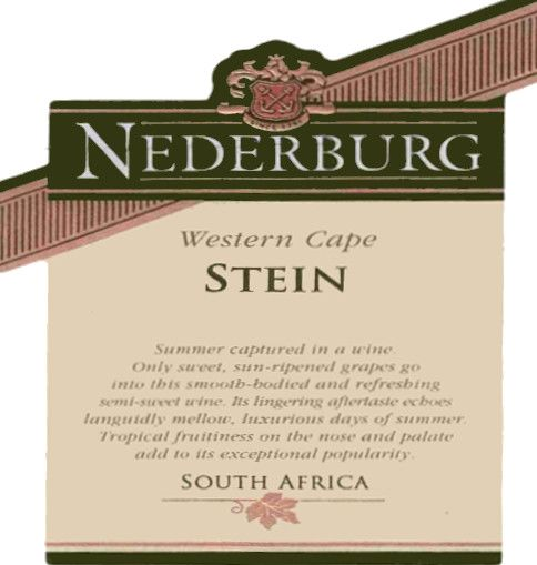 Nederburg Stein 2007 Front Label