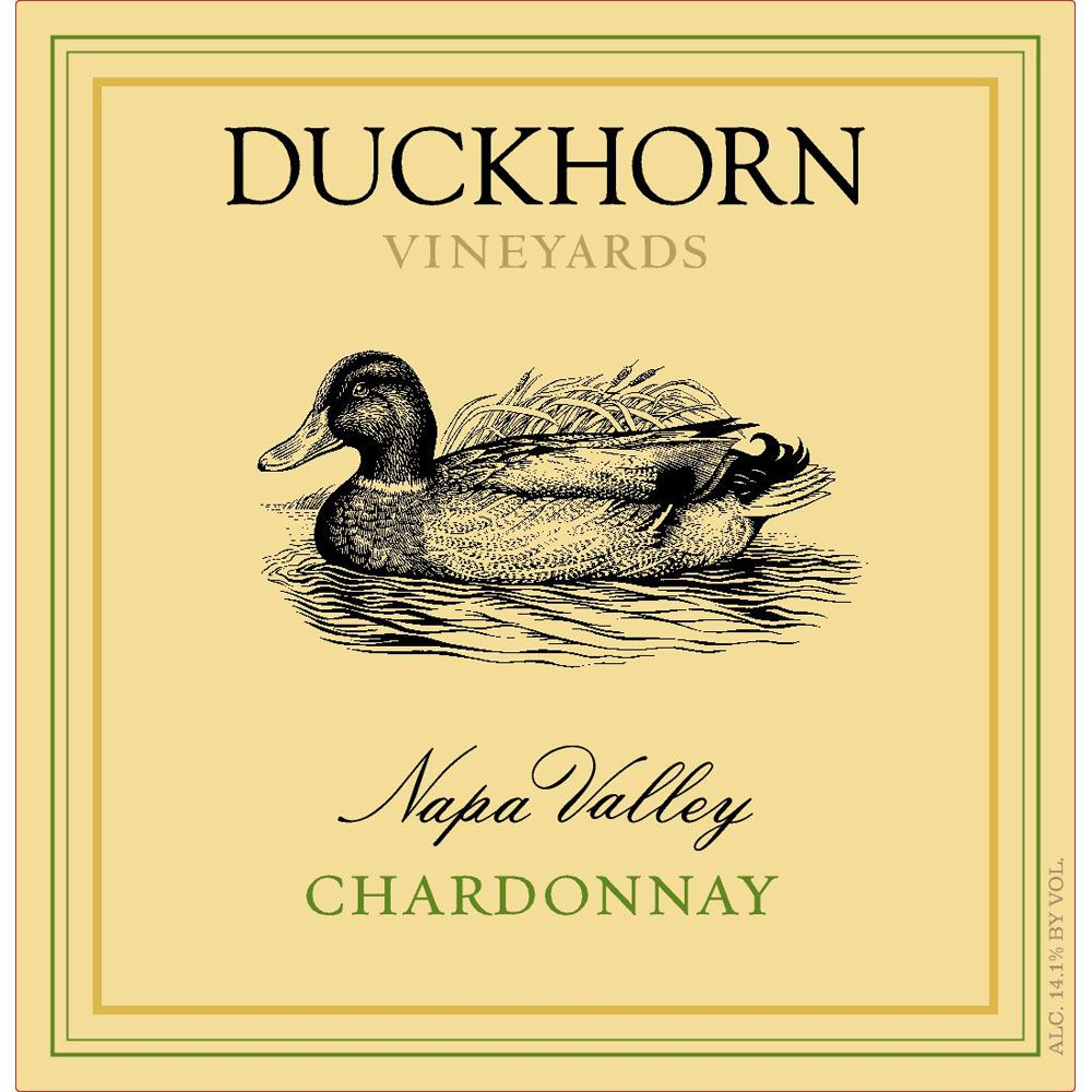 Duckhorn Napa Valley Chardonnay (375ML half-bottle) 2016 Front Label