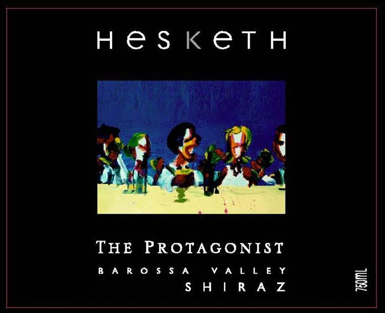Hesketh The Protagonist Shiraz 2012 Front Label