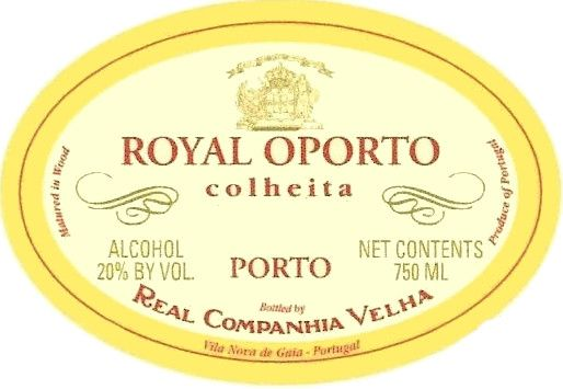 Royal Colheita Port 1975 Front Label