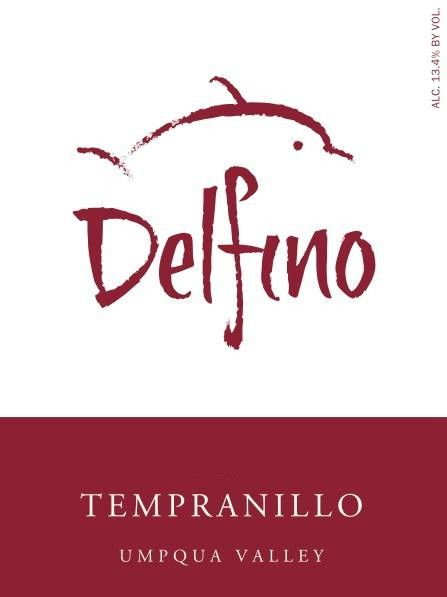 Delfino Vineyards Tempranillo 2012 Front Label