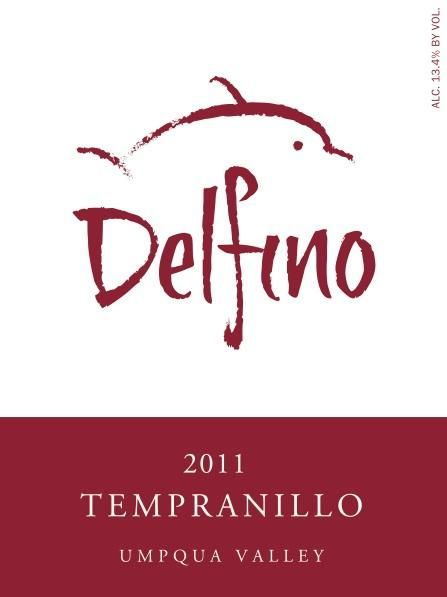 Delfino Vineyards Tempranillo 2011 Front Label