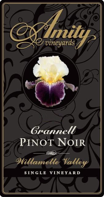 Amity Crannell Pinot Noir 2011 Front Label