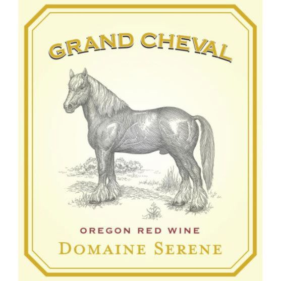 Domaine Serene Grand Cheval 2013 Front Label