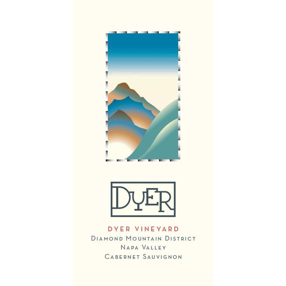 Dyer Vineyard Cabernet Sauvignon 2006 Front Label