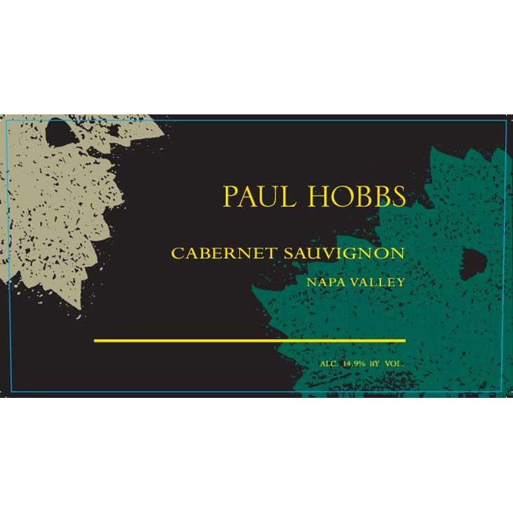 Paul Hobbs Napa Valley Cabernet Sauvignon 1999 Front Label