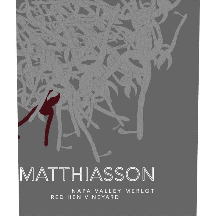 Matthiasson Red Hen Vineyard Merlot 2013 Front Label