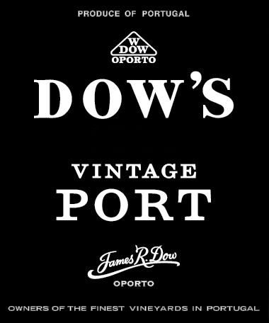 Dow's Vintage Port 1994 Front Label