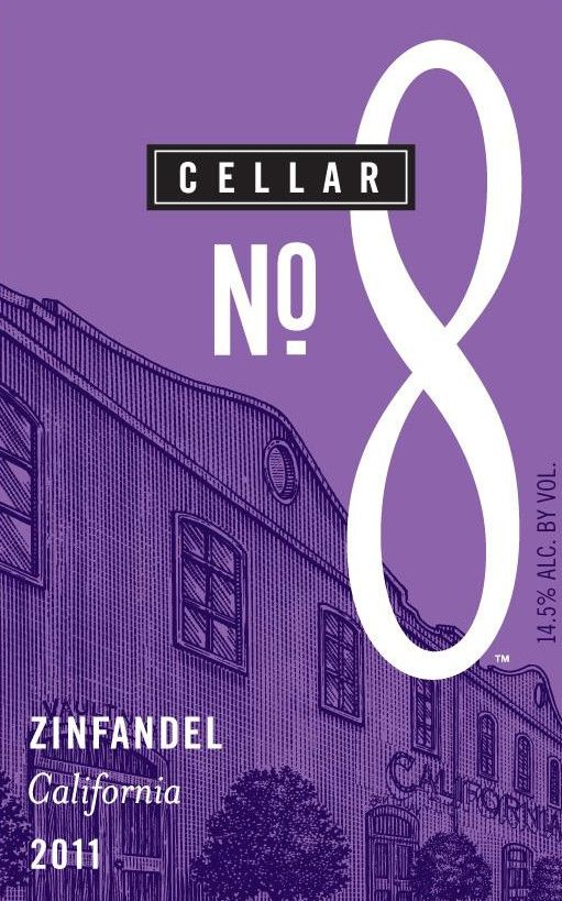 Cellar No. 8 Zinfandel 2011 Front Label