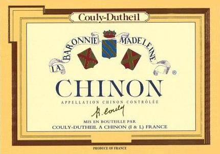 Couly-Dutheil Chinon Barronie Madeleine 2012 Front Label