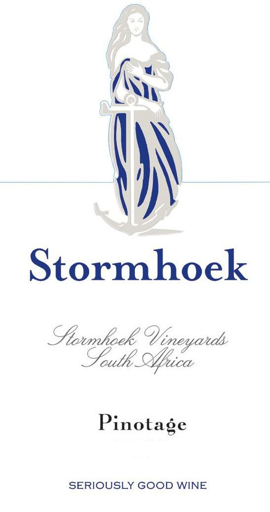 Stormhoek Wines Pinotage 2008 Front Label