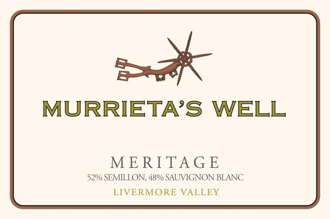 Murrieta's Well White Meritage 2013 Front Label