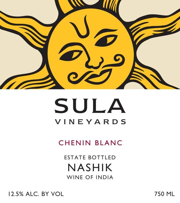 Sula Vineyards Nashik Chenin Blanc 2012 Front Label