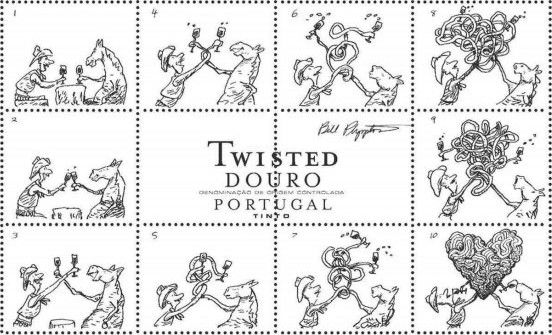 Niepoort Twisted Tinto 2010 Front Label