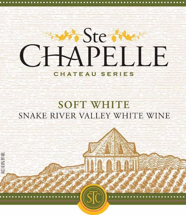 Ste. Chapelle Chateau Series Soft White 2012 Front Label