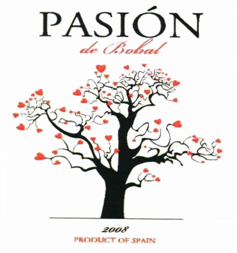 Sierra Norte Pasion de Bobal 2008 Front Label
