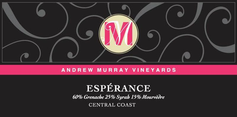 Andrew Murray Esperance Red Blend 2011 Front Label