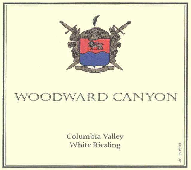 Woodward Canyon Riesling 2006 Front Label