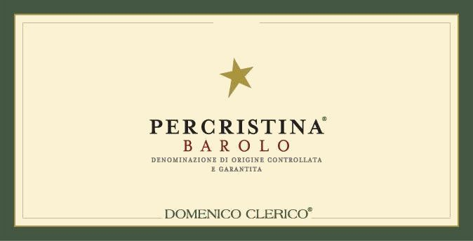 Domenico Clerico Barolo Percristina 2010 Front Label