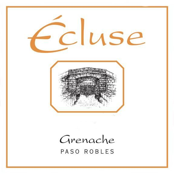 Ecluse Wines Grenache 2010 Front Label