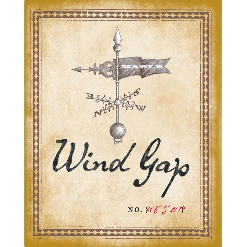 Wind Gap Sonoma Coast Chardonnay 2012 Front Label