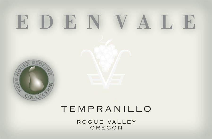 EdenVale Winery Pear House Reserve Tempranillo 2004 Front Label