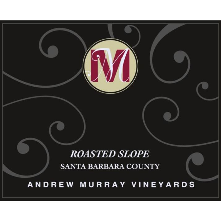 Andrew Murray Roasted Slope Syrah 2015 Front Label