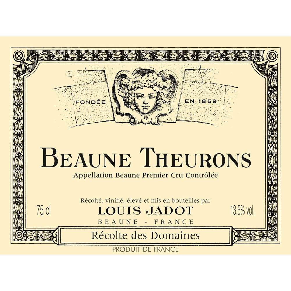 Louis Jadot Beaune-Theurons 2005 Front Label