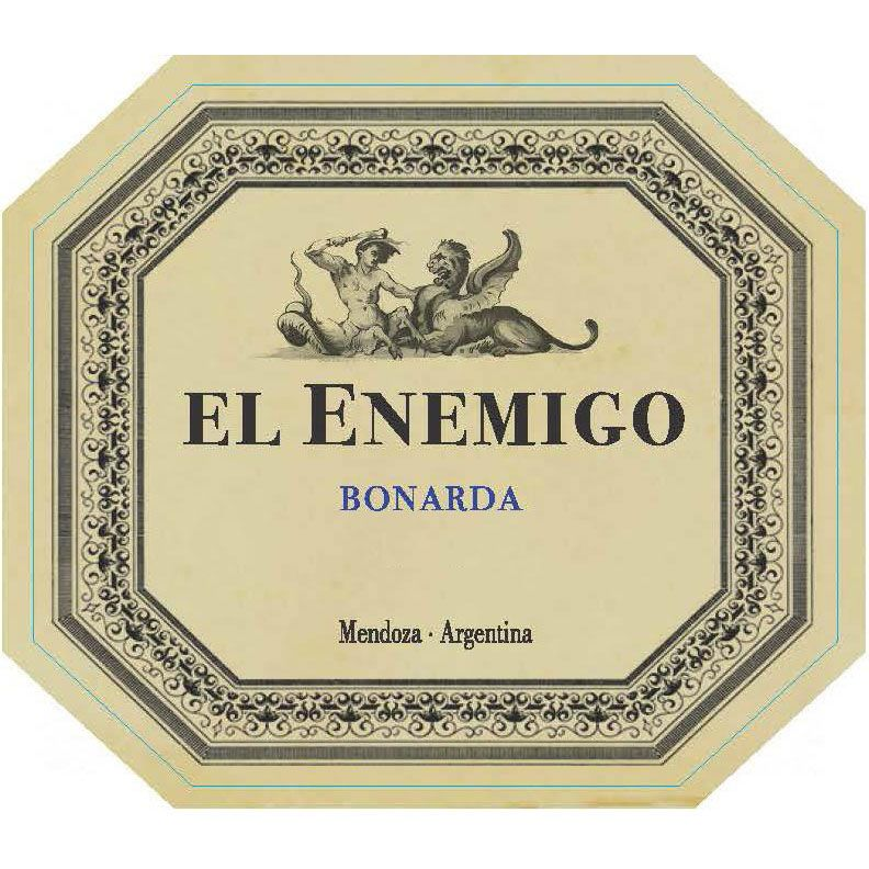 El Enemigo  Bonarda 2013 Front Label