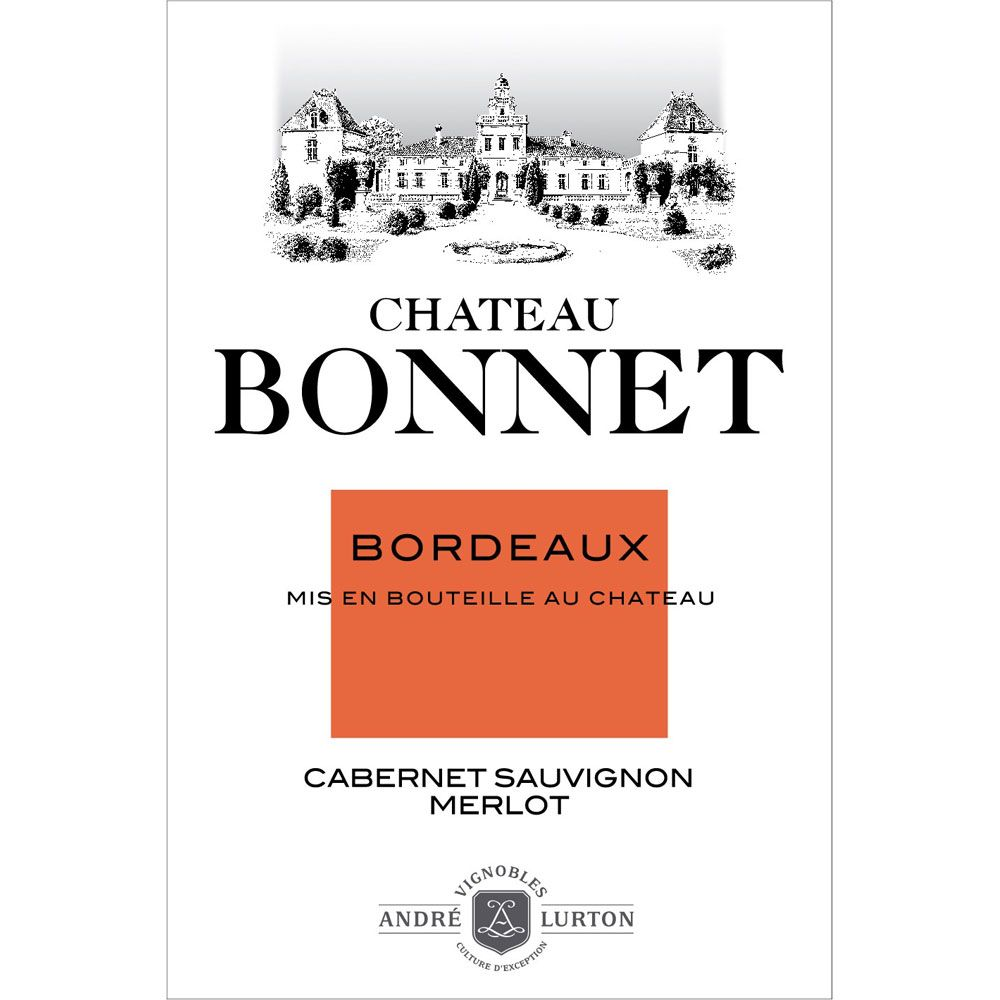 Chateau Bonnet Rouge 2014 Front Label