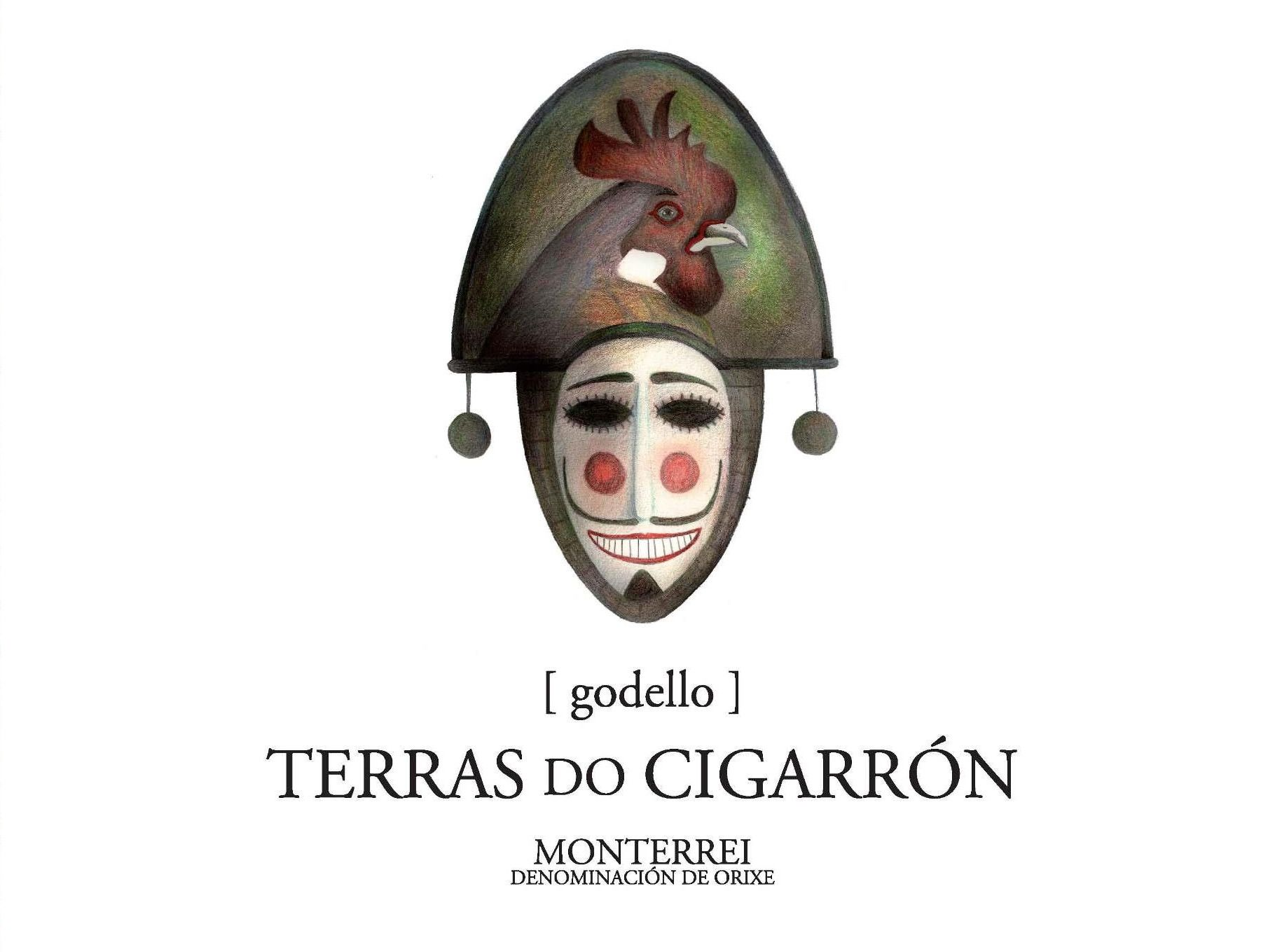 Terras do Cigarron Blanco 2012 Front Label