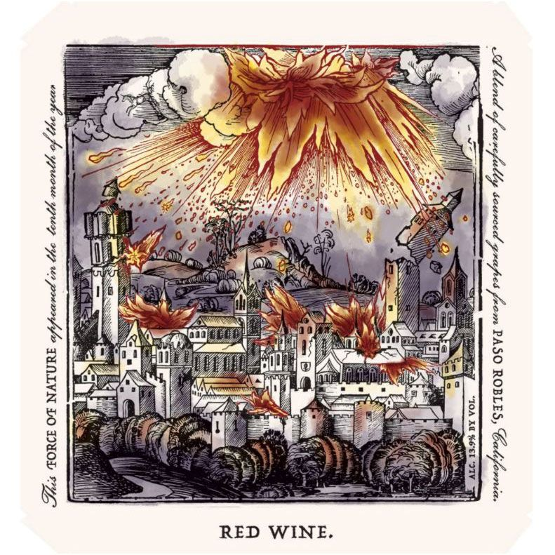 Rabble Red Blend 2015 Front Label