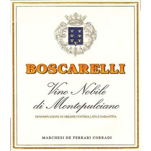 Boscarelli Vino Nobile di Montepulciano (375ML half-bottle) 2014 Front Label