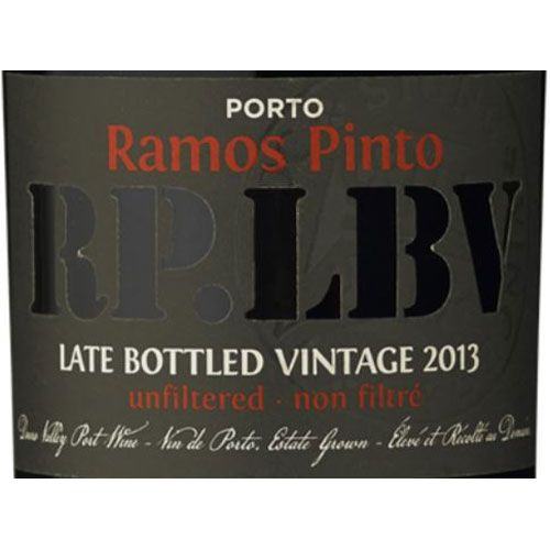 Ramos Pinto Late Bottled Vintage Port 2013 Front Label