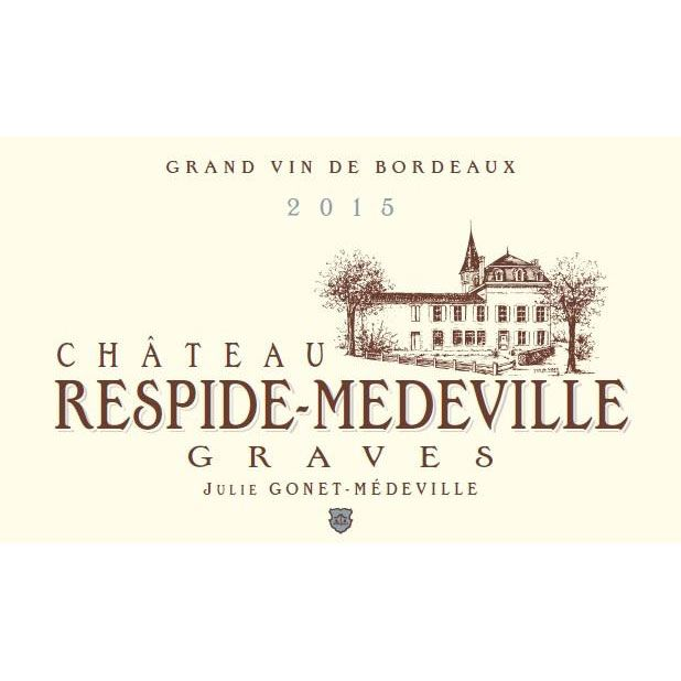 Chateau Respide Medeville Rouge 2015 Front Label