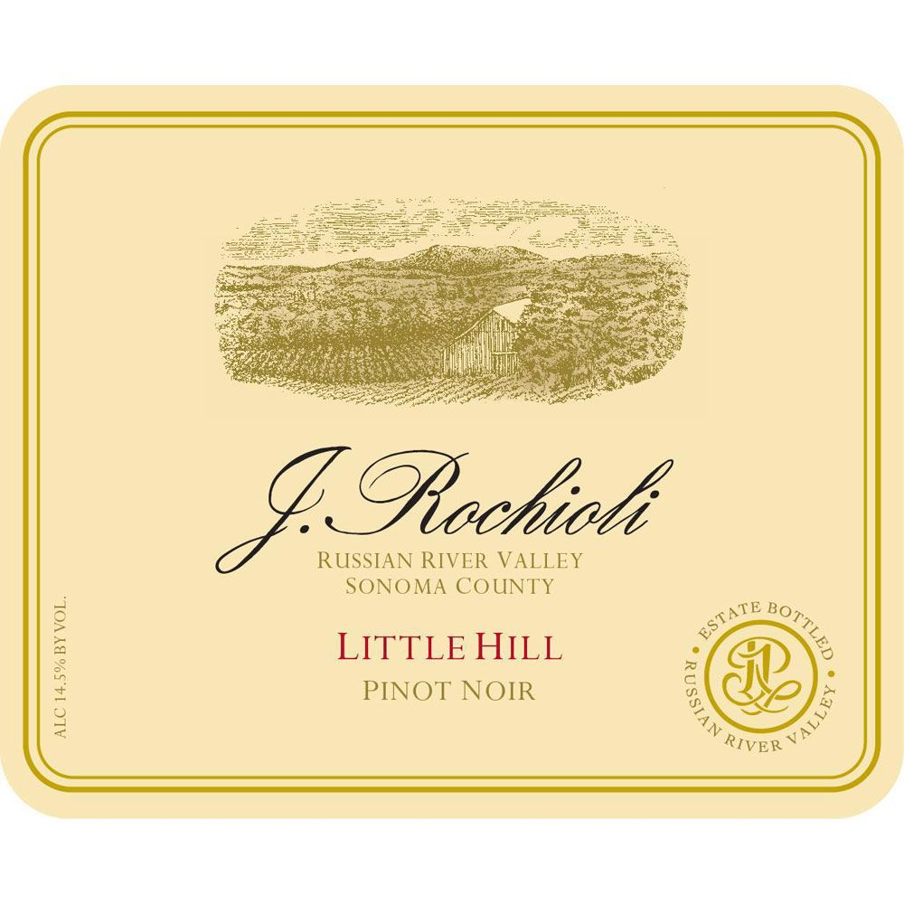 Rochioli Little Hill Pinot Noir 2002 Front Label