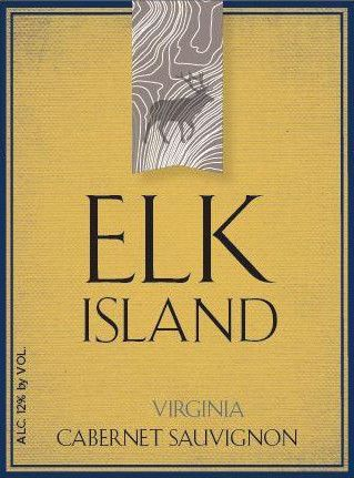 Elk Island Winery Cabernet Sauvignon 2014 Front Label