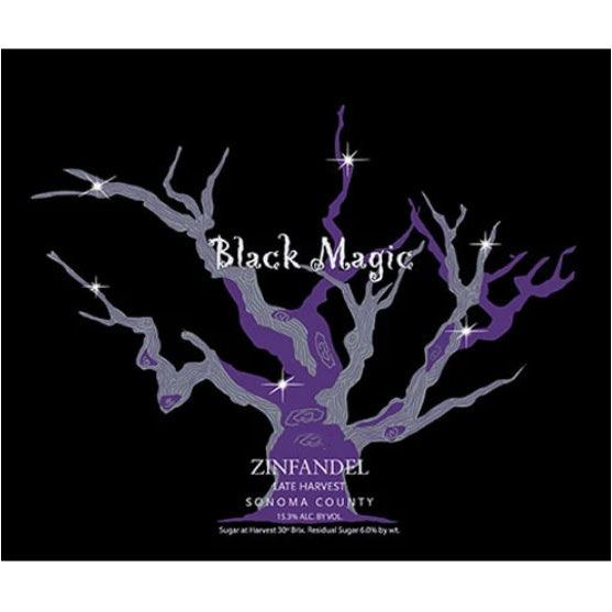 Carol Shelton Black Magic Late Harvest Zinfandel (375ML half-bottle) 2017 Front Label