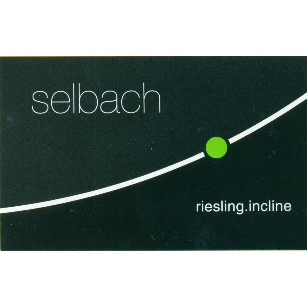 Selbach Incline Riesling 2016 Front Label