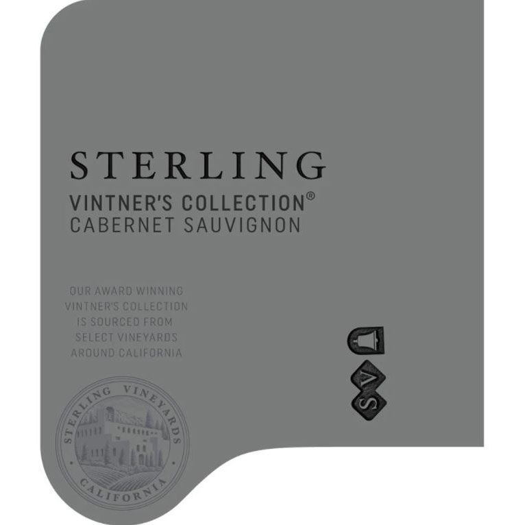 Sterling Vintner's Collection Cabernet Sauvignon 2016 Front Label