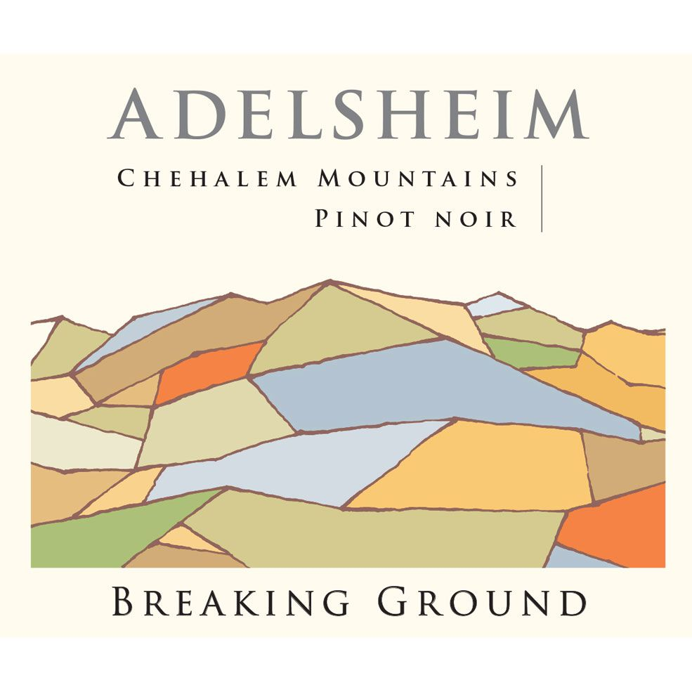 Adelsheim Breaking Ground Pinot Noir 2015 Front Label